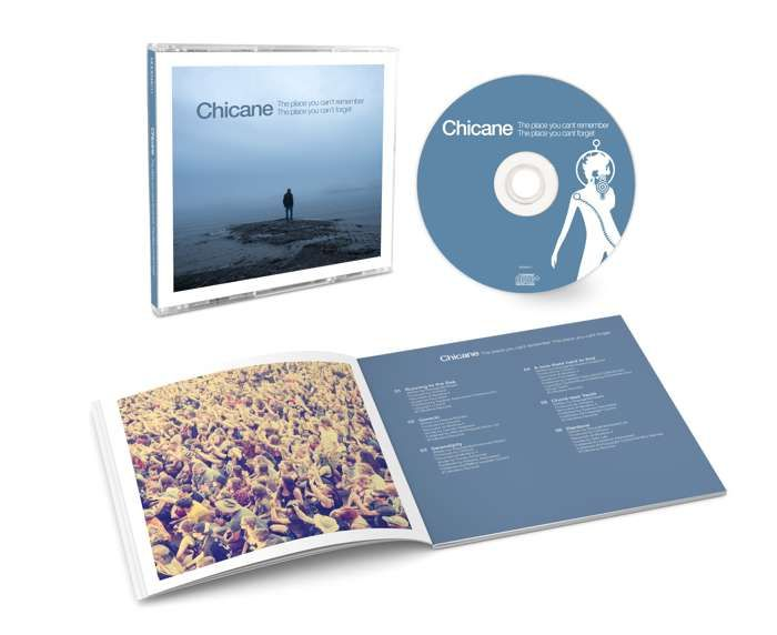 The Place You Can't Remember, The Place You Can't Forget (Signed CD) - Chicane