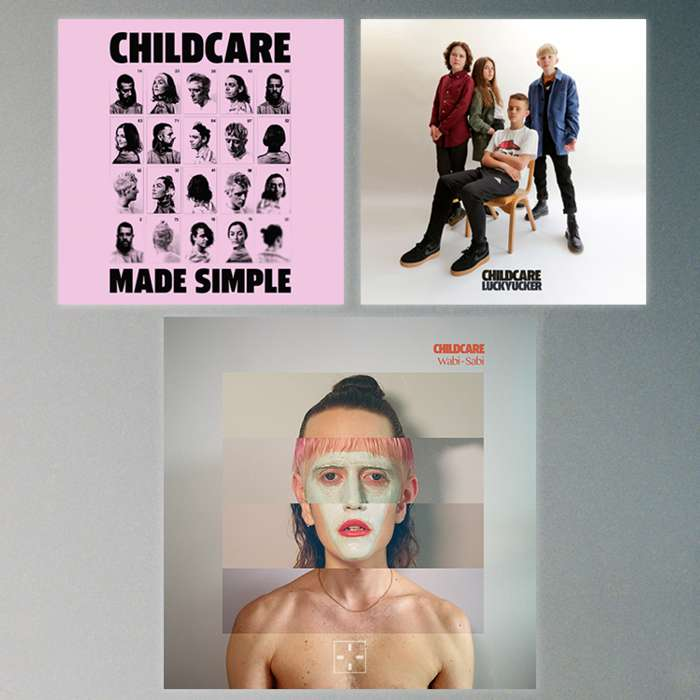 VINYL BLISS MEDLEY // WABI-SABI + MADE SIMPLE EP + LUCKYUCKER EP - CHILDCARE