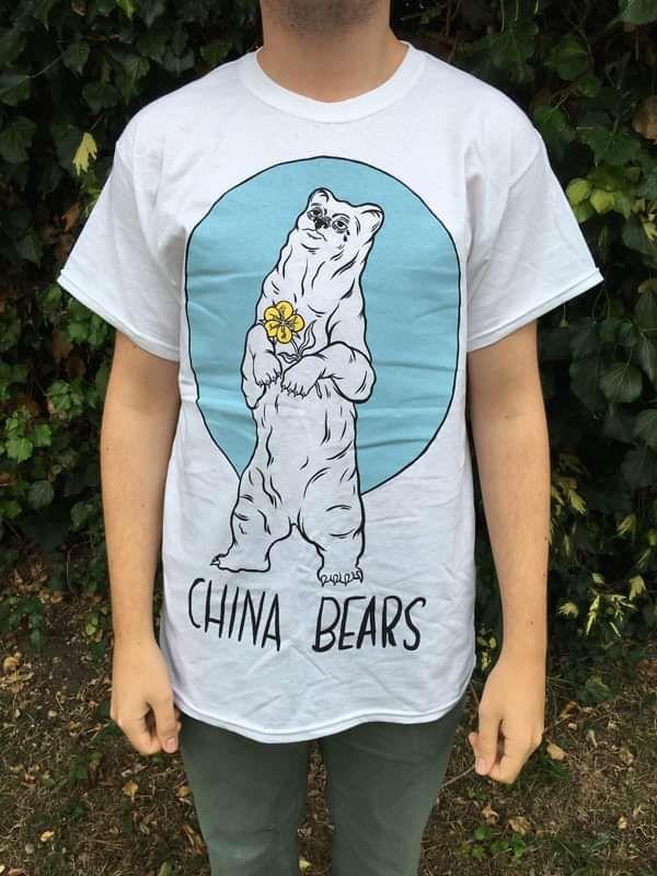 INMALY BEAR TEE - WHITE - China Bears