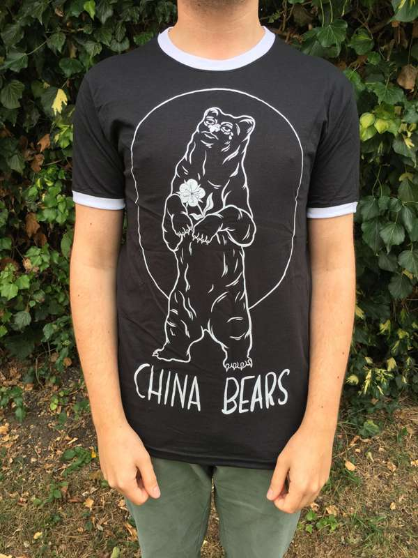 INMALY RINGER TEE - BLACK - China Bears