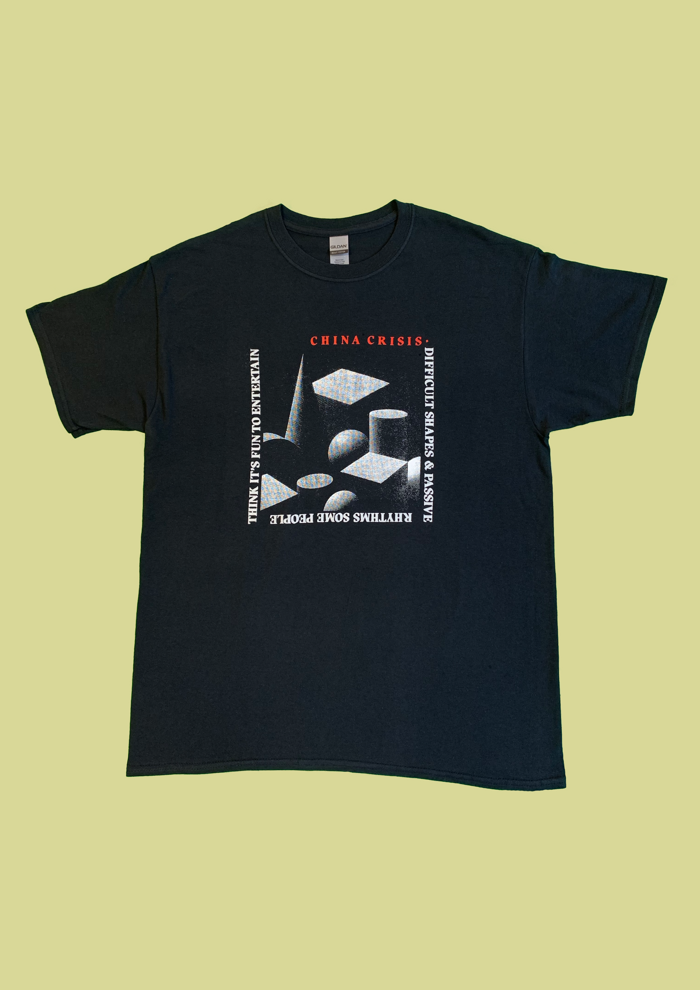 Difficult Shapes T-Shirt - China Crisis