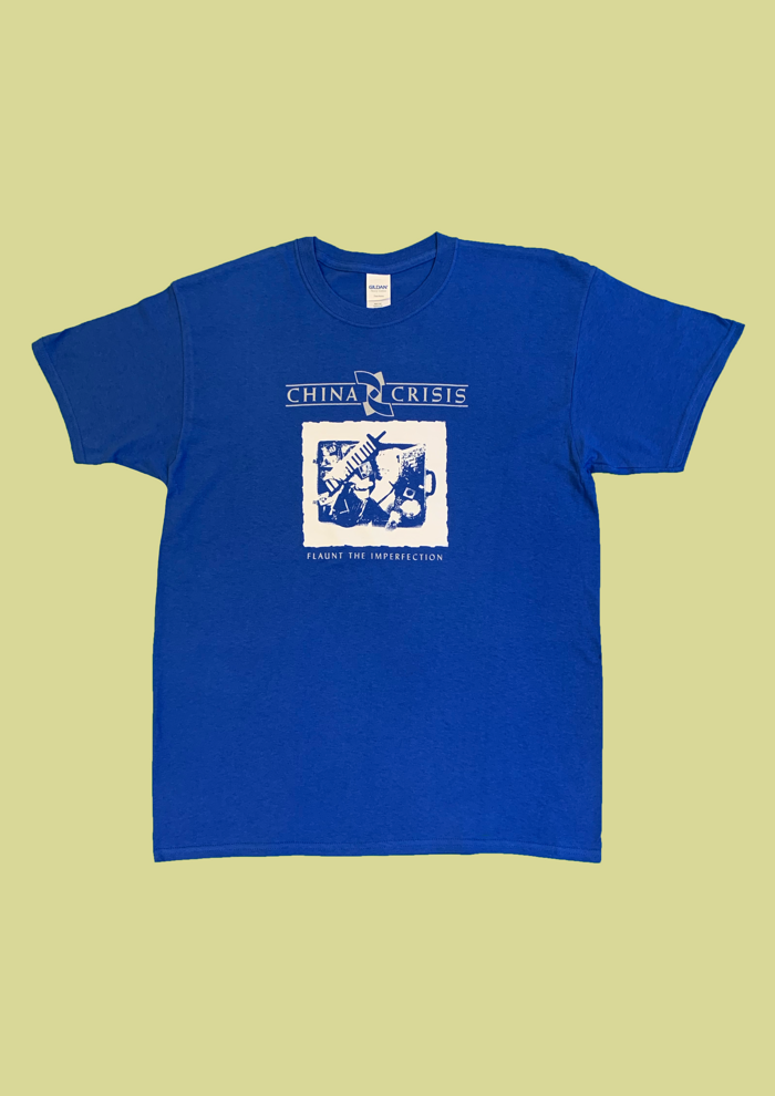 Flaunt The Imperfection T-Shirt - China Crisis