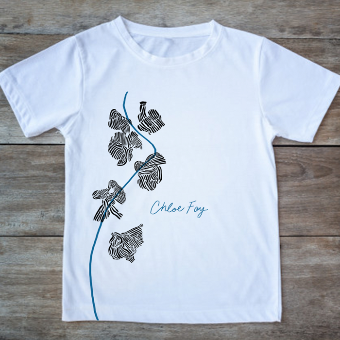 Chloe Foy T-Shirt (Large Logo) - Chloe Foy