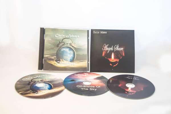 Three CD Bundle - Chris Adams