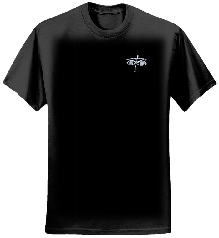 Women's Eyes Design T-Shirt - Chris Dela Cruz