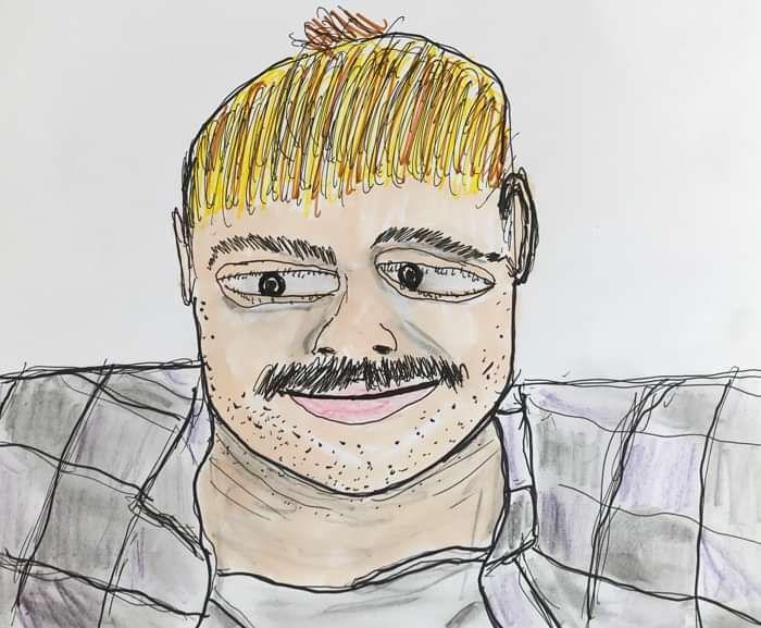 I drew this - CHRISTOF VAN DER VEN