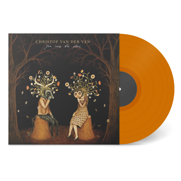 "You Were The Place [Orange 12"" Vinyl] - CHRISTOF VAN DER VEN"