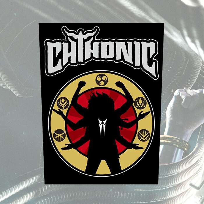CHTHONIC - 'Battlefields of Asura' Backpatch - CHTHONIC