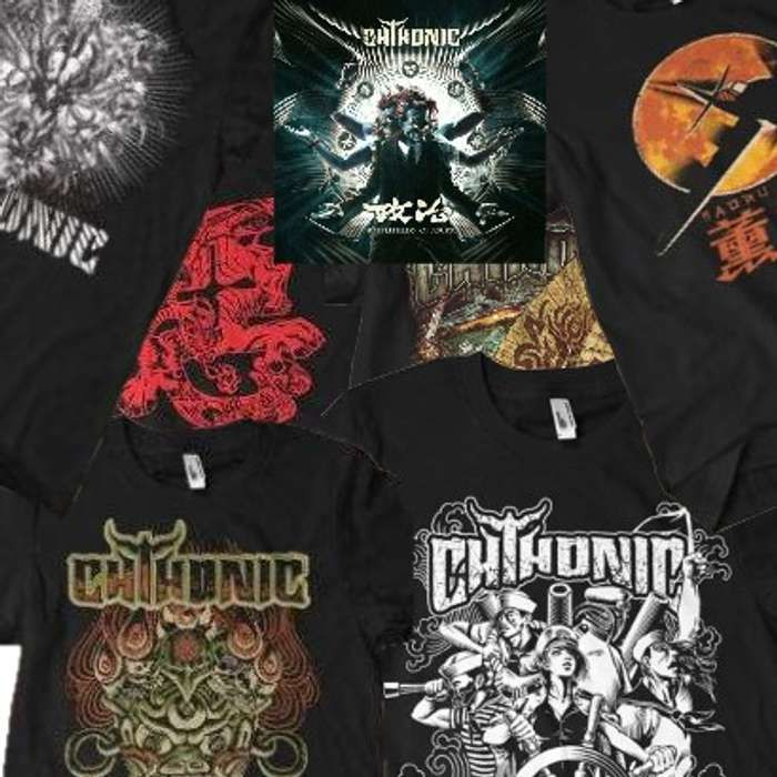 CHTHONIC - Free 'Battlefields of Asura' album with 2 Shirts - CHTHONIC