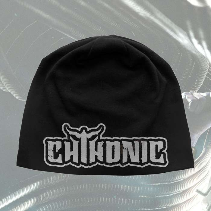 CHTHONIC - 'Logo' Discharge Beanie - CHTHONIC