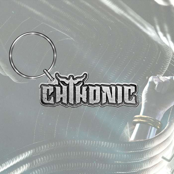 CHTHONIC - 'Logo' Metal Keyring - CHTHONIC