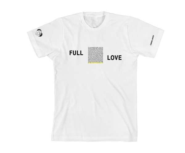 'Full Love' T-shirt - Ciaran Lavery