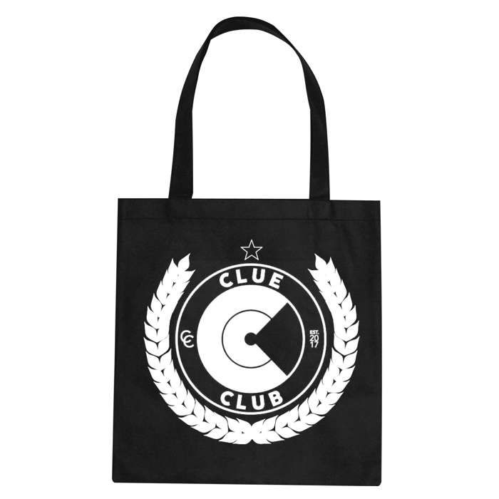 CLUE CLUB TOTE BAG - Clue Records