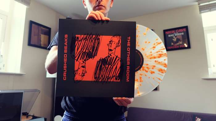 Crushed Beaks 'The Other Room' LP [Splatter Vinyl] - Clue Records