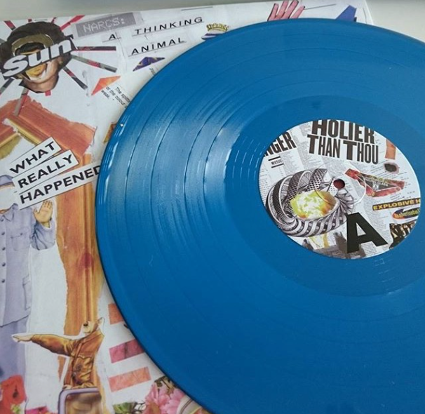 NARCS - A Thinking Animal [BLUE VINYL] - Clue Records