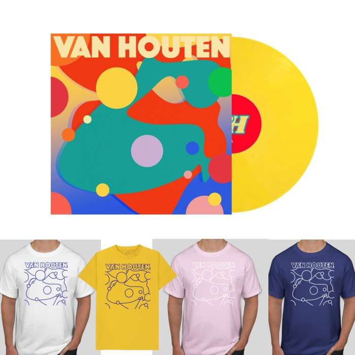 VAN HOUTEN YELLOW VINYL + T BUNDLE - Clue Records