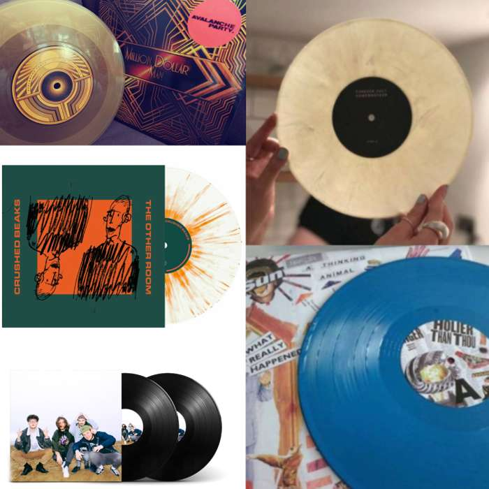 VINYL BUNDLE (5 VINYL) + TOTE BAG - Clue Records