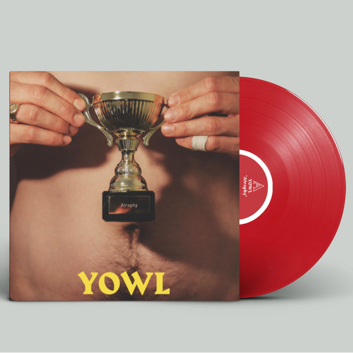 "YOWL 'Atrophy' EP [12"" RUBY RED VINYL] - Clue Records"