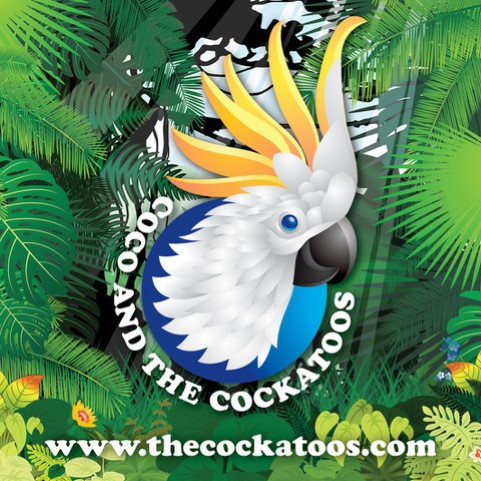 Coco and the Cockatoos Sticker - Coco and the Cockatoos