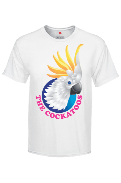 The Cockatoos T Shirt - Coco and the Cockatoos