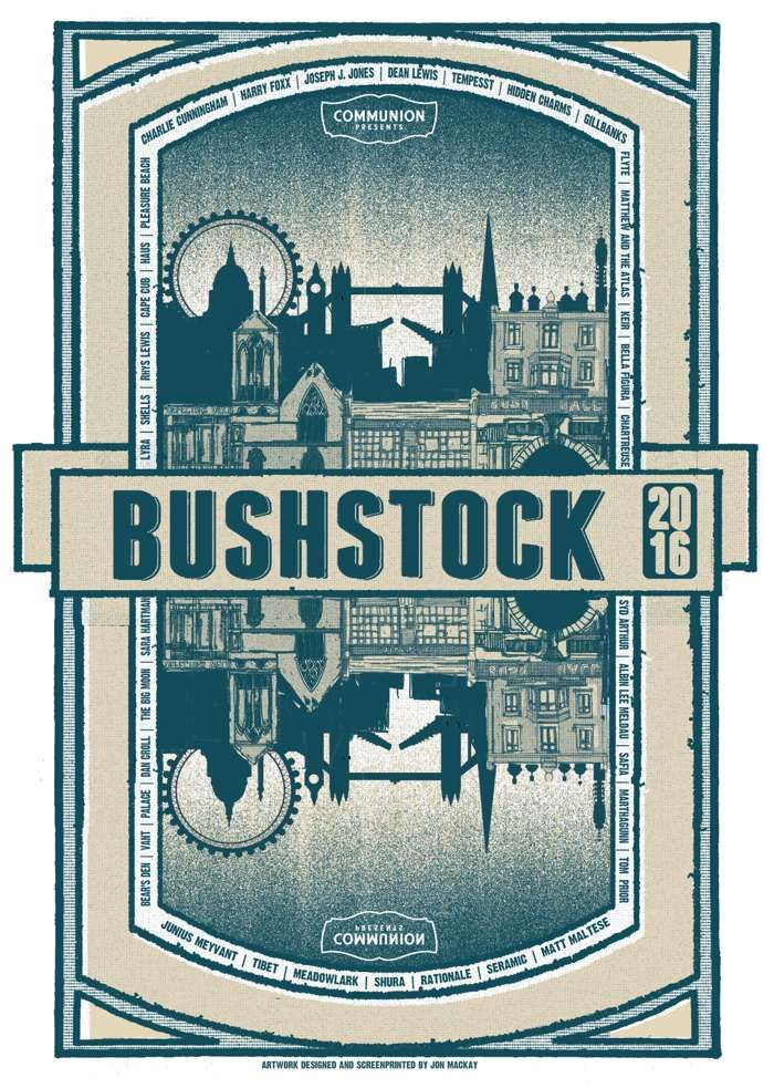 Limited Edition Bushstock 2016 Poster - Communion
