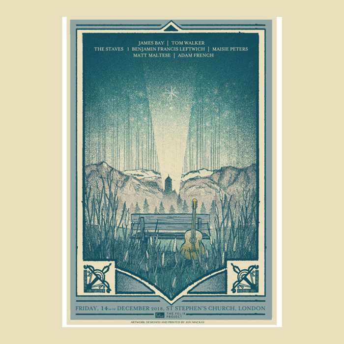 Limited Edition Felix Project Charity Fundraiser poster - Communion