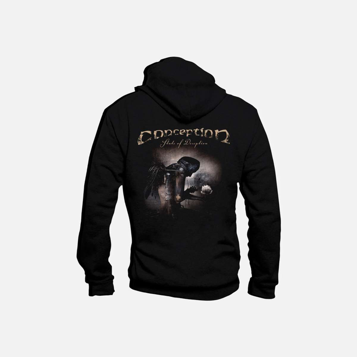 Brand new State of Deception design Conception zip-up hoodie - Conception
