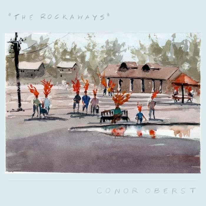 """7"""" vinyl -- No One Changes/The Rockaways - Conor Oberst"""