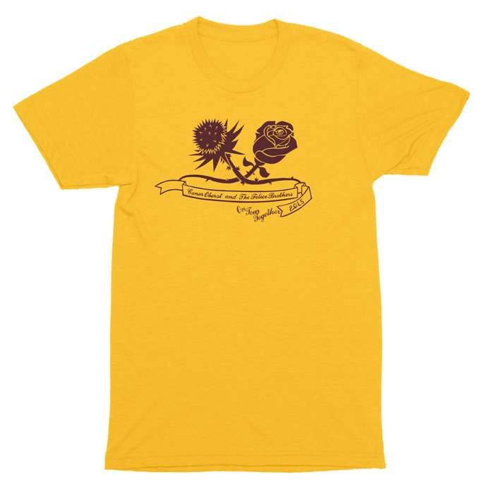 Conor Oberst & Felice Bros. 2013 Tour Tee - Conor Oberst