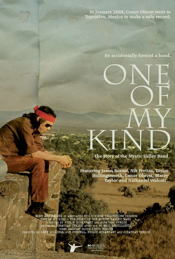 "Conor Oberst & Mystic Valley Band - ""One of my Kind"" Movie Poster - Conor Oberst"
