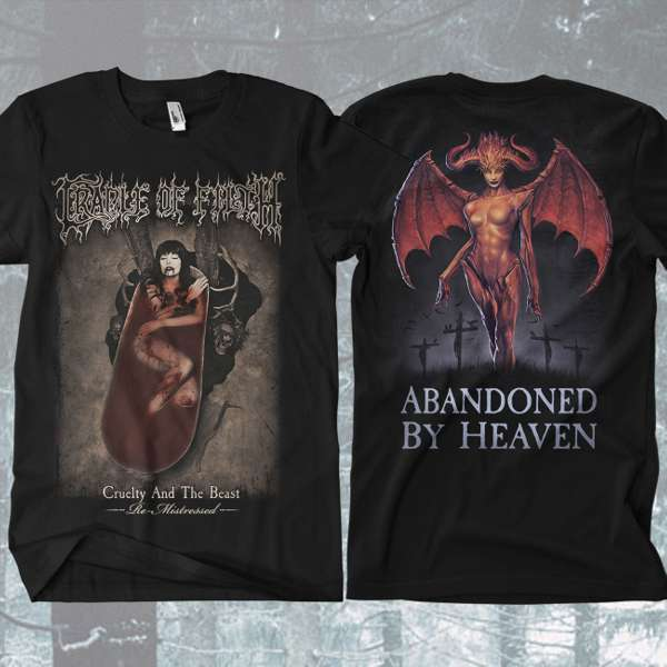 Cradle of Filth - 'Abandoned By Heaven' T-Shirt - Cradle of Filth