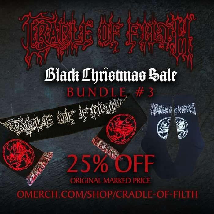Cradle of Filth - Black Christmas Sale - Bundle #3 - Cradle of Filth