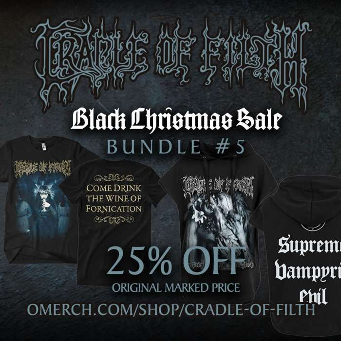 Cradle of Filth - Black Christmas Sale - Bundle #5 - Cradle of Filth