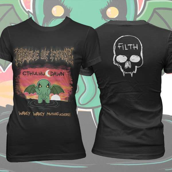 Cradle of Filth - 'Chthulu Dawn' Girls T-Shirt - Cradle of Filth