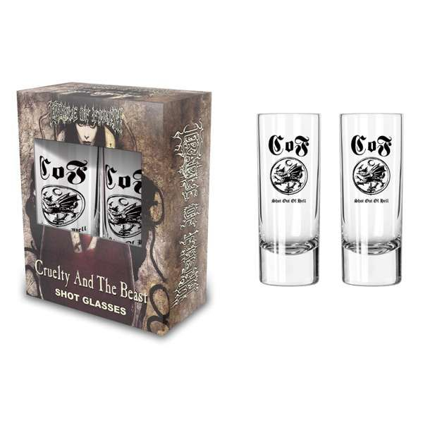 Cradle of Filth - 'Cruelty & The Beast' Shot Glasses - Cradle of Filth