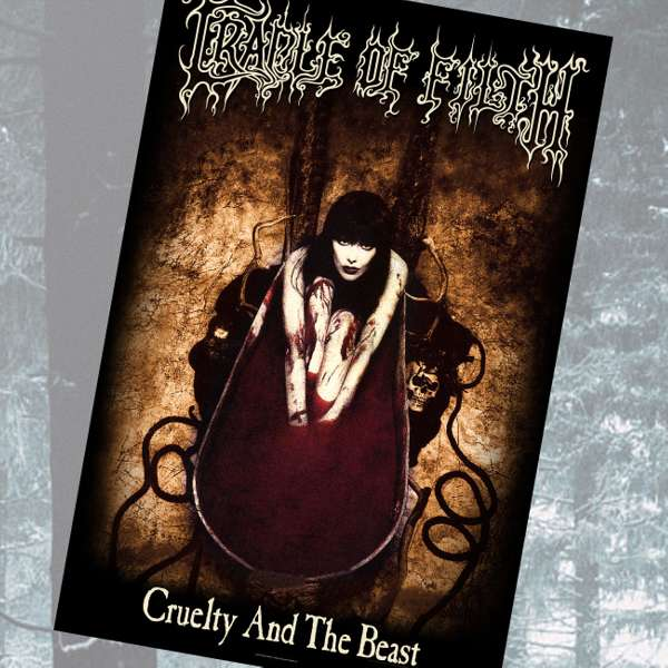 Cradle of Filth - 'Cruelty and the Beast' Textile Poster - Cradle of Filth