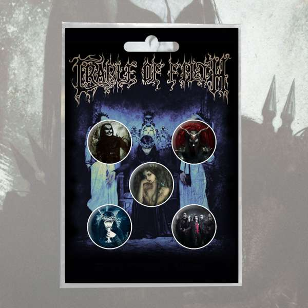 Cradle of Filth - 'Cruelty' Badge Pack - Cradle of Filth