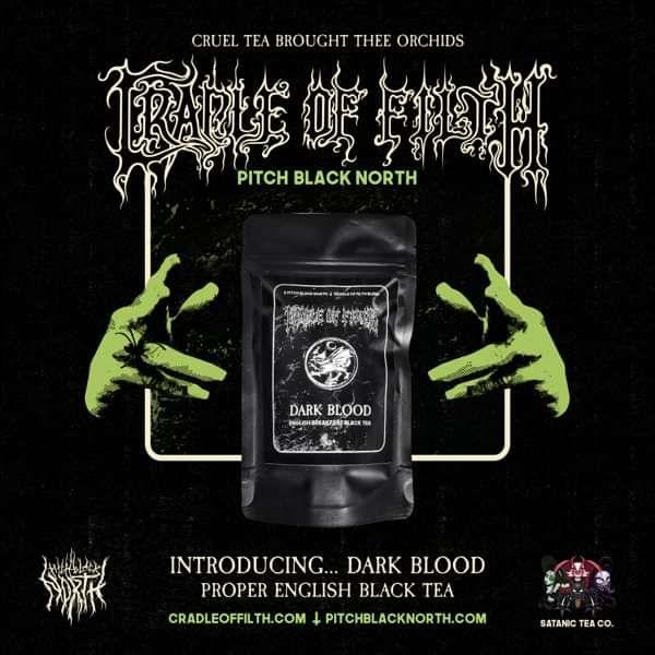 Cradle of Filth - 'Dark Blood' English Breakfast Tea - Cradle of Filth