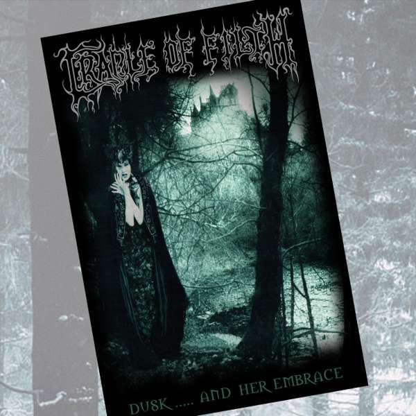Cradle of Filth - 'Dusk and Her Embrace' Textile Poster - Cradle of Filth