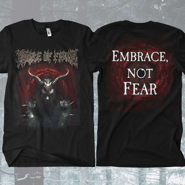 Cradle of Filth - 'Embrace Not Fear' T-Shirt - Cradle of Filth