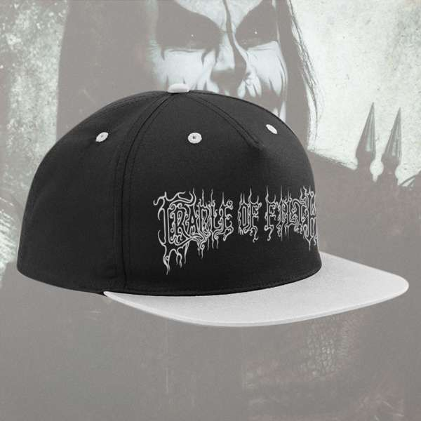 Cradle of Filth - 'Logo' Snapback Hat - Cradle of Filth