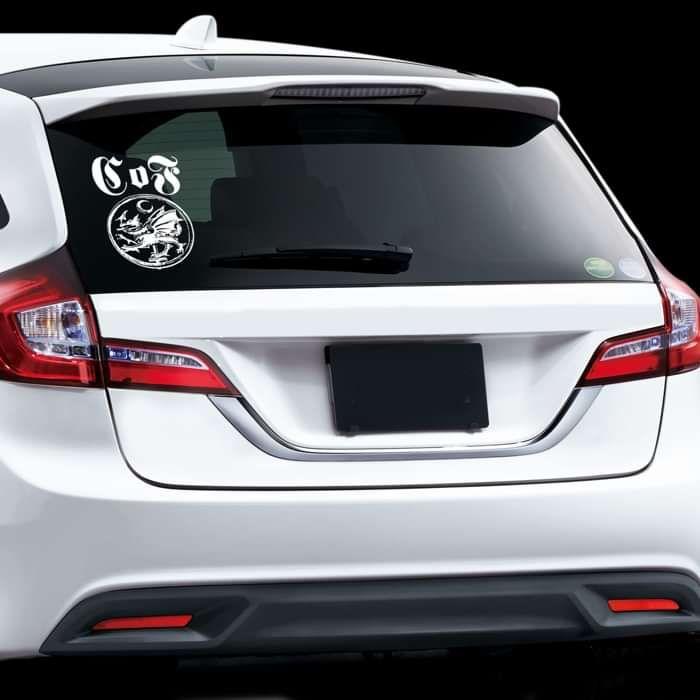 Cradle of Filth - 'Sigil' Car Window Cling Vinyl Sticker - Cradle of Filth