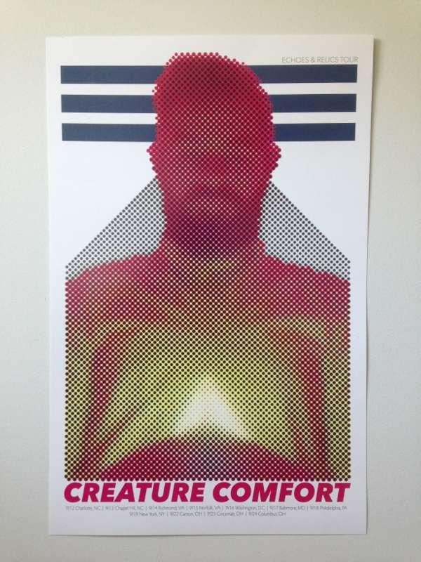 Echoes & Relics Tour Poster - Creature Comfort