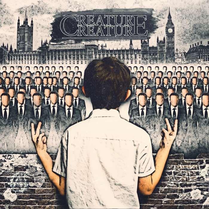 'Two Finger Tantrum' ALBUM CD - CREATURE CREATURE
