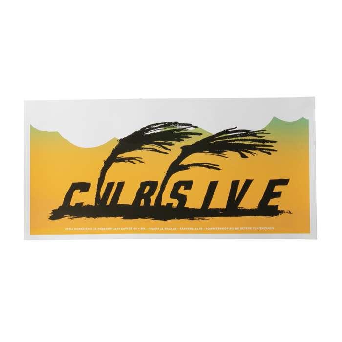 Cursive Poster - 2/26/04 - Cursive