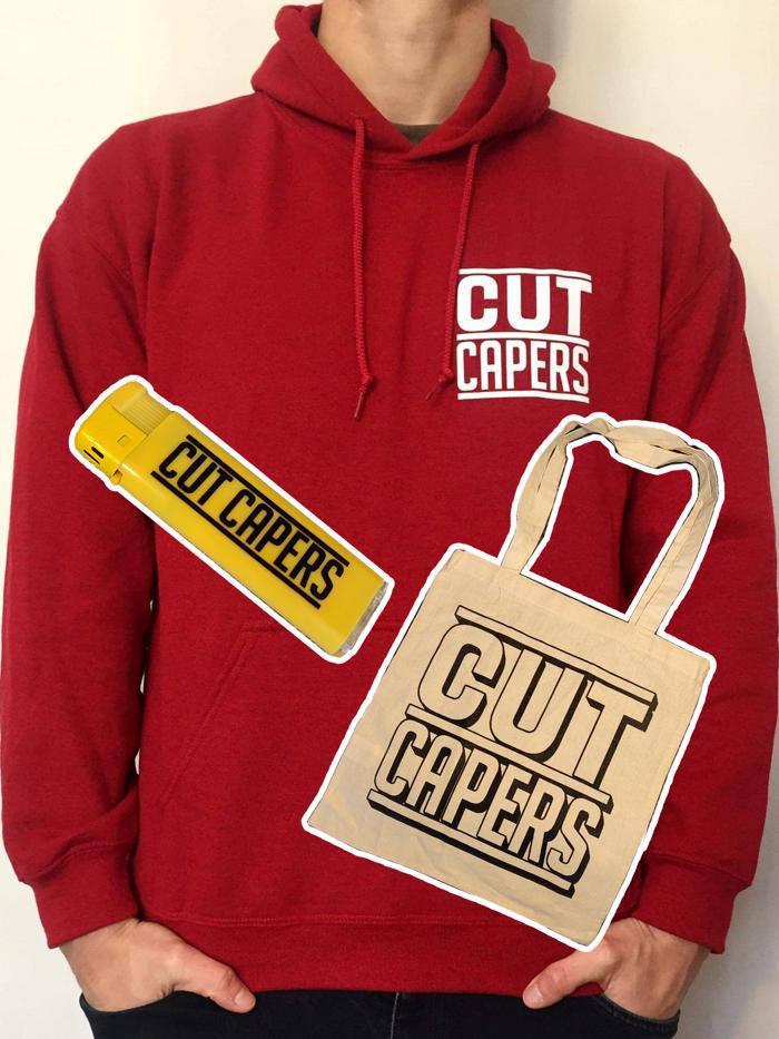 Pinstripe Hoodie Bundle - Cut Capers