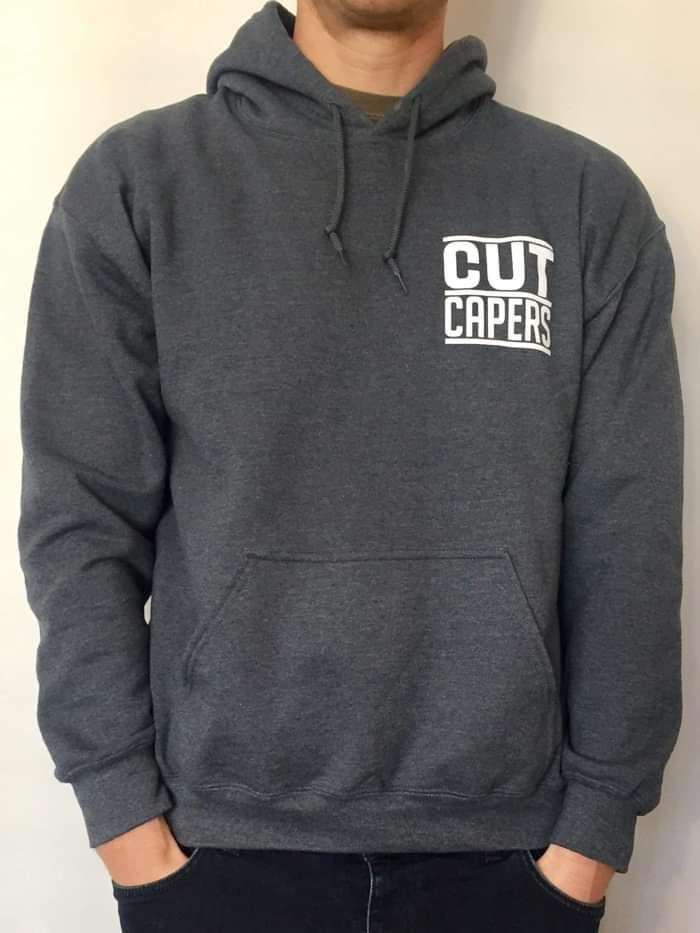 Pinstripe Hoodie - Cut Capers