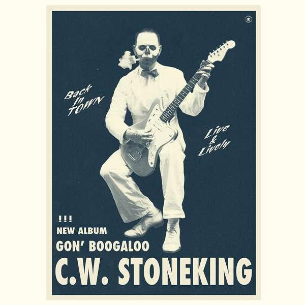 Glow-In-The-Dark Gon' Boogaloo posters - C.W. Stoneking
