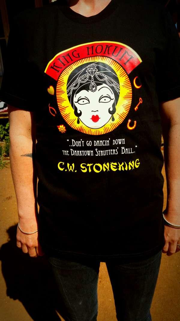 King Hokum 'Fortune Teller' Colour Design- T-Shirt - C.W. Stoneking