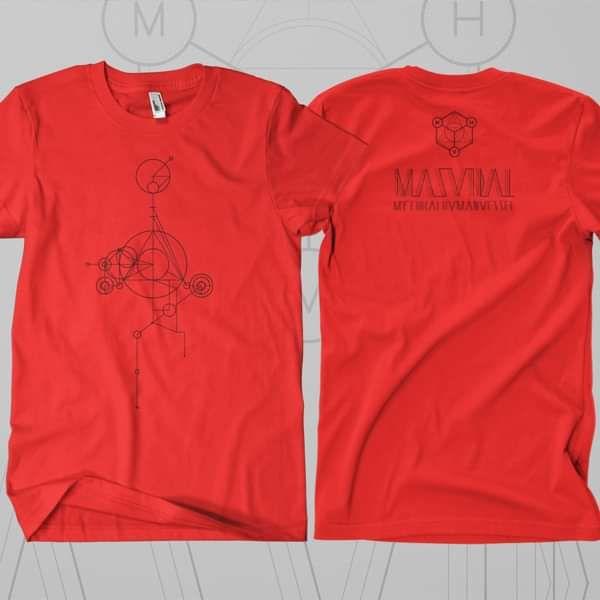 Masvidal - 'Mythical' Red T-Shirt - Cynic